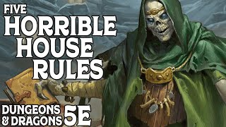 Download Five Horrible House Rules for Dungeons & Dragons 5e Video