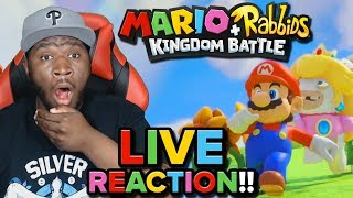 Download ″THE GANG'S ALL HERE!!″ [Mario + Rabbids Kingdom Battle] [LIVE REACTION] Video