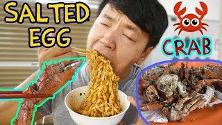 Download SALTED EGG CRAB! Street Food Tour of Old Airport Road Hawker Center Video