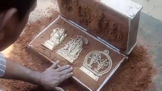Download सिल्वर पीतल या काशा की मूर्ति बनाने का इतना आसान तरीका Silver sculpture making very simple Video