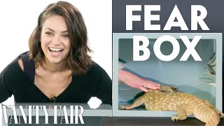 Download Mila Kunis, Kristen Bell, and Kathryn Hahn Touch a Millipede & Other Weird Stuff | Vanity Fair Video