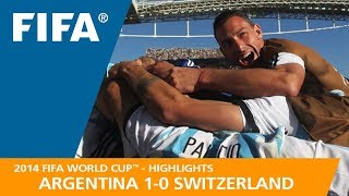 Download ARGENTINA v SWITZERLAND (1:0) - 2014 FIFA World Cup™ Video