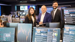 Download Students sold on new cutting-edge trading room Video