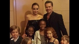 Download Angelina Jolie With Her Family Video