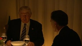 Download Romney speaks after dining with Trump in NYC Video