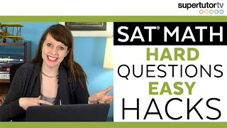 Download SAT Math: Hard Questions EASY Hacks Video