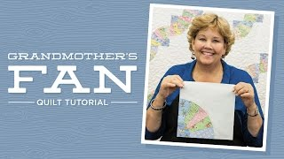 Download Make a Grandmother's Fan Quilt with Jenny Doan of Missouri Star! (Video Tutorial) Video