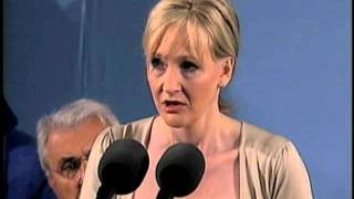 Download J.K. Rowling Speaks at Harvard Commencement Video