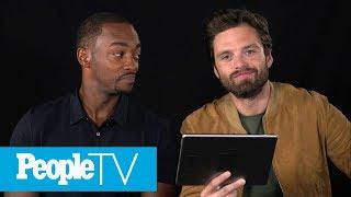 Download Kids Interview 'Avengers: Infinity War' Stars Sebastian Stan & Anthony Mackie | PeopleTV Video
