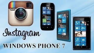 Download Instagram para Lumia 710 / 800 e 900 Video