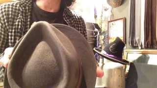 Download KEVIN from JJ HAT CENTER - Shape a Fedora. into a Teardrop Video