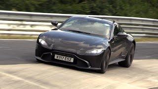 Download Aston Martin Vantage - Brutal V8 Engine SOUNDS on the Nurburgring Video