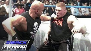 Download ″Stone Cold″ Steve Austin confronts Brock Lesnar days before WrestleMania: SmackDown, March 11, 2004 Video