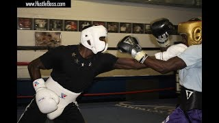 Download UK Banger Don Cameron steps inside Johnny Tocco's: Tough sparring with Daniel Roach Video