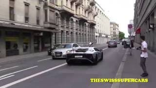 Download Capristo Aventador SV goes crazy in the city!!! Video