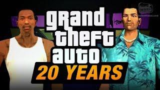 Download GTA 20th Anniversary Tribute Trailer Video