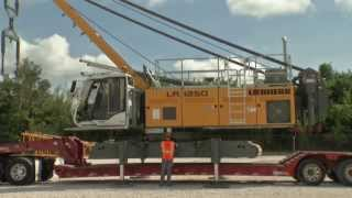 Download Liebherr - Self assembly system for the LR 1250 crawler crane Video