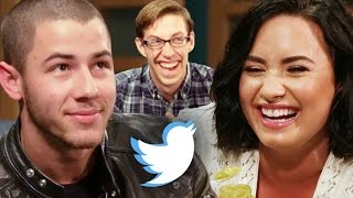 Download Demi Lovato and Nick Jonas Let Twitter Make Their Decisions Video