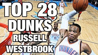 Download Russell Westbrook TOP 28 Dunks To Celebrate His 28th Birthday! Video
