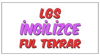 Download LGS İngilizce Ful Tekrar Video