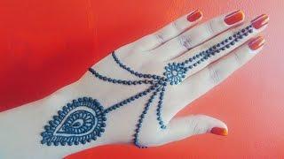 Henna Jewellery Mehndi : Gulf henna design jewellery mehndi for beginners naush