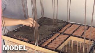 Download REINFORCED CONCRETE SLAB - MODEL - LOSA EN CONCRETO ARMADO Video