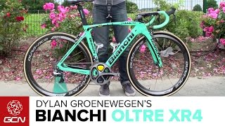 Download Dylan Groenewegen's NEW Bianchi Oltre XR4 | Tour De France 2016 Video