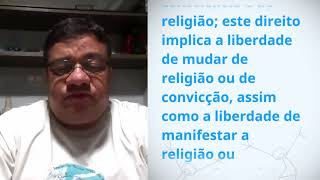 Download Jose Claudio Rocha from Brazil reading article 18 of the Universal Declaration of Human Rights Video