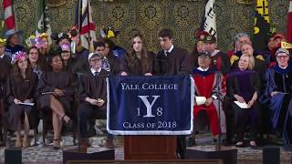 Download Yale Graduation Speaker Breaks Up with Boyfriend During Speech | Rebecca Shaw and Ben Kronengold Video