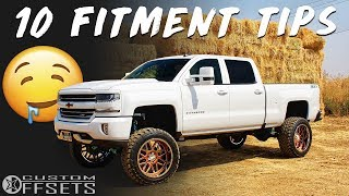 Download 10 Fitment Tips Video