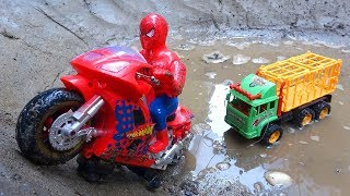 Download Motorbikes and cars play together B553S - Toys for kids Video