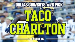 Download Dallas Cowboys Select Taco Charlton in 1st Round Video