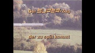 Download Der Superzug, der zu spät kommt. Deutsche Bundesbahn 1979 Video