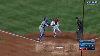 Download Dodgers catch Werth at the plate in 6th Video