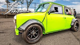 Download He put a HAYABUSA Motor in his MINI - It's SICK! Video
