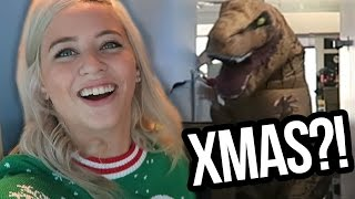 Download DIRTY CHRISTMAS SWEATERS & DINOSAURS?! (Lunchy Break) Video