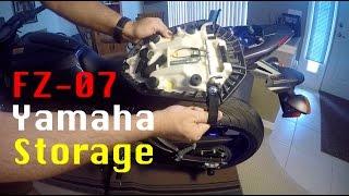 Download FZ-07 Trunk ″FZ 07 Storage Compartment″ under seat storage on Yamaha FZ07 Video