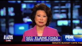 Download Sen. McConnell's Wife Elaine Chao Rips 'Left Wing' For Attacking Her With 'Racial Slurs' On Fox Video