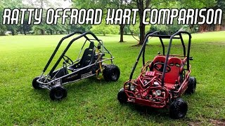 Download Thrashing Cheap Offroad Go Karts Video