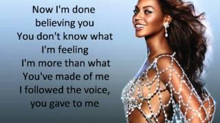 Download Beyonce - Listen Lyrics Video