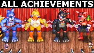 Download FNAF 6 - How To Get All The Band Achievements (Freddy Fazbear's Pizzeria Simulator) Video