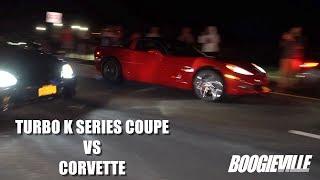Download Turbo K Series Coupe vs Corvette Video