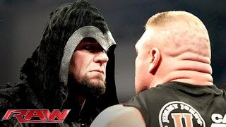 Download Brock Lesnar is surprised by the return of The Undertaker: Raw, Feb. 24, 2014 Video
