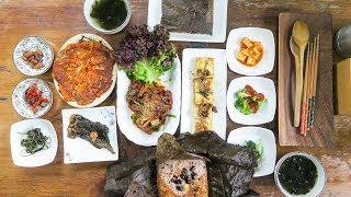 Download DELICIOUS Korean Vegan Food in Busan, South Korea Video
