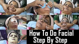 Download How To Do Facial At Home Tutorial | Step By Step | Easy And Simple Gold Facial Video