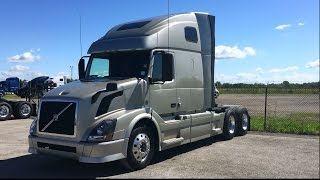 Download 2013 VOLVO VNL670 with VED13 Engine and Aluminum Wheels Video