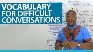 Download English Vocabulary for difficult situations: confess, regret, condolences... Video