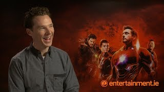 Download What's the future for Doctor Strange? Benedict Cumberbatch on Avengers: Infinity War Video