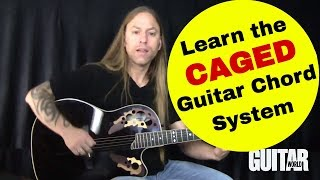 Download The Secret to Learning The CAGED Guitar Chord System - Fretboard Mastery, Part 8: Steve Stine Lesson Video