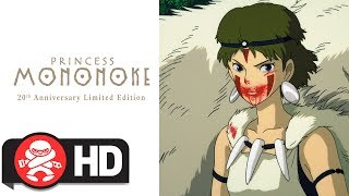 Download Princess Mononoke 20th Anniversary Limited Edition - Official Trailer Video